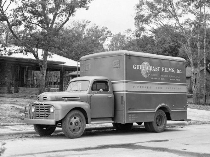 1948 Ford F-5 retro semi tractor g wallpaper