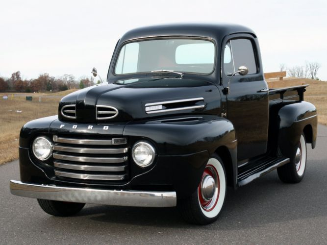 1948aei50 Ford F-1 Pickup (83) retro gf wallpaper