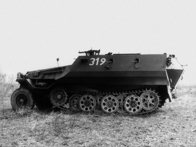 1955 Tatra 810 (OT-810) military retro apc weapon tank g wallpaper