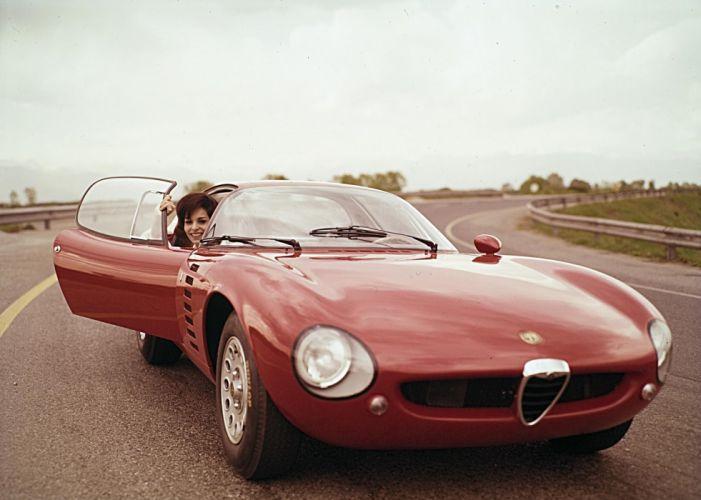 1964 Alfa Romeo Giulia 1600 Canguro (105) classic supercar f wallpaper