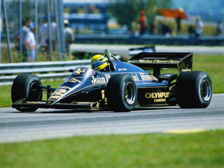 1985 Lotus 97T Formula f-1 race racing   v wallpaper