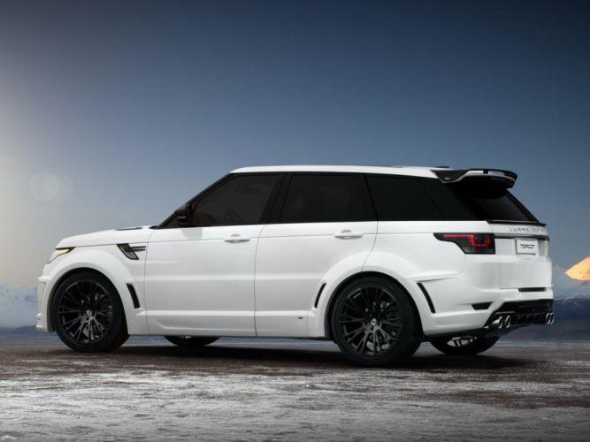 2014 LUMMA Range Rover Sport CLR R-S suv tuning e wallpaper