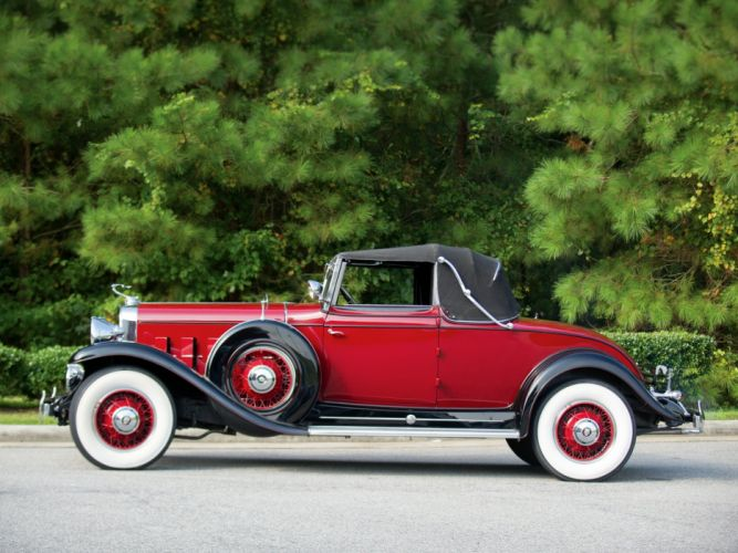 1931 Cadillac 370-A V12 Convertible Coupe Fleetwood (4735) luxury retro ds wallpaper