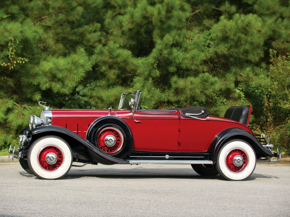 1931 Cadillac 370-A V12 Convertible Coupe Fleetwood (4735) luxury retro  d wallpaper