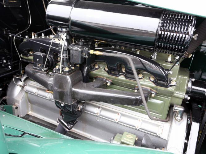 1933 Packard Super Eight 7-passenger Sedan (1004-654) luxury retro engine fg wallpaper