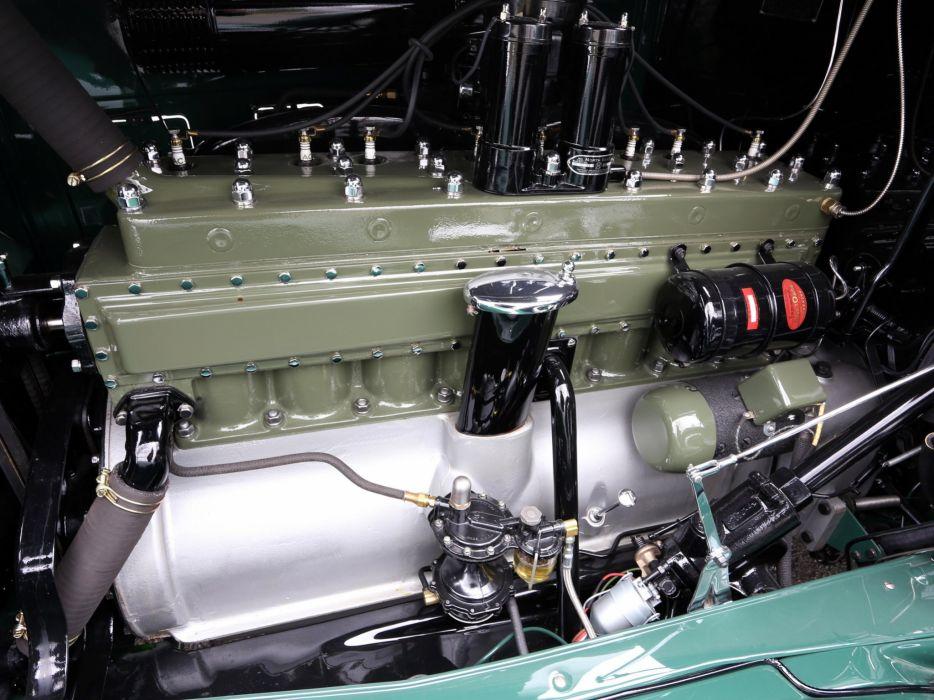1933 Packard Super Eight 7-passenger Sedan (1004-654) luxury retro engine    f wallpaper