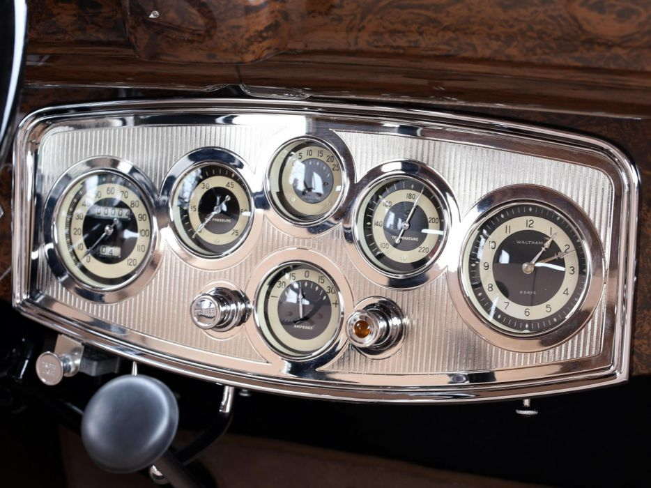 1933 Packard Super Eight 7-passenger Sedan (1004-654) luxury retro interior f wallpaper