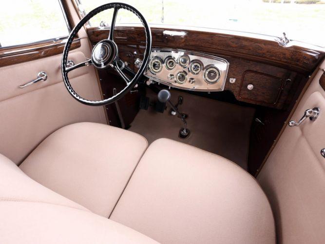 1933 Packard Super Eight 7-passenger Sedan (1004-654) luxury retro interior g wallpaper