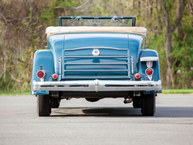 1934 Packard Eight Coupe Roadster (1101-719) retro r wallpaper