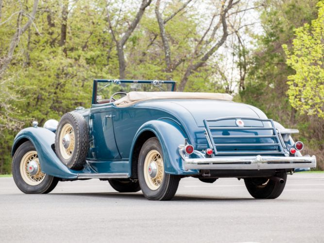 1934 Packard Eight Coupe Roadster (1101-719) retro t wallpaper