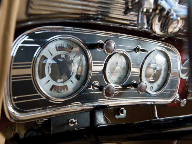 1935 Auburn 851 Custom Dual Ratio Coupe retro interior g wallpaper