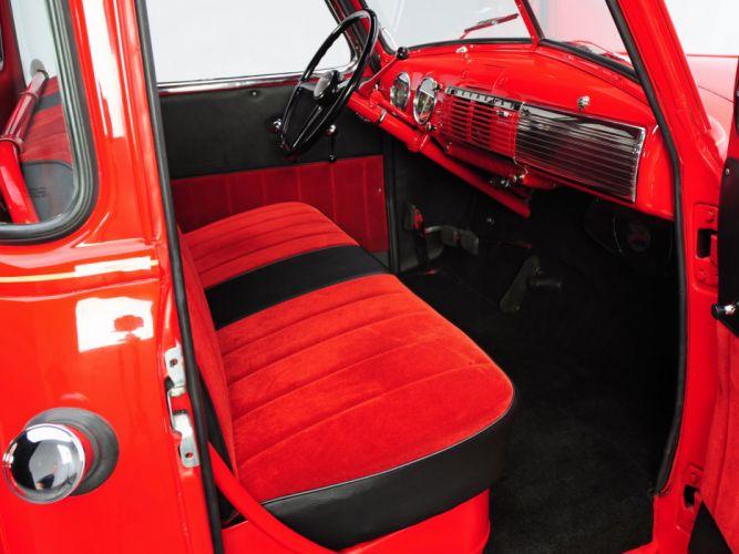 1949 Chevrolet 3100 Pickup (GPHP-3104) retro interior f wallpaper