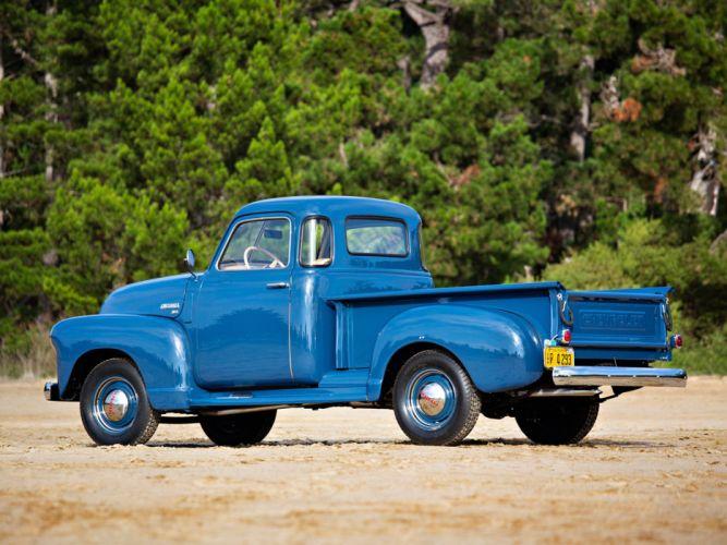 1949 Chevrolet 3100 Pickup (GPHP-3104) retro d wallpaper