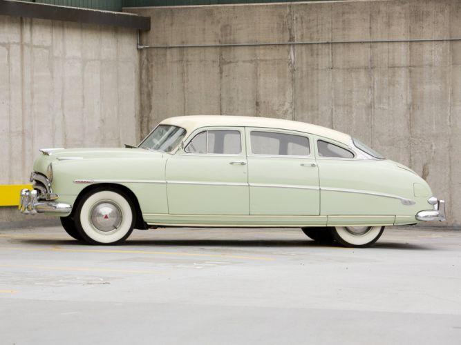 1953 Hudson Super Wasp Sedan (Series-5C) retro f wallpaper