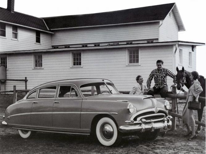 1953 Hudson Super Wasp Sedan (Series-5C) retro d wallpaper