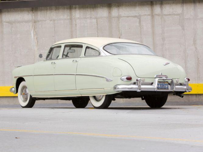 1953 Hudson Super Wasp Sedan (Series-5C) retro e wallpaper