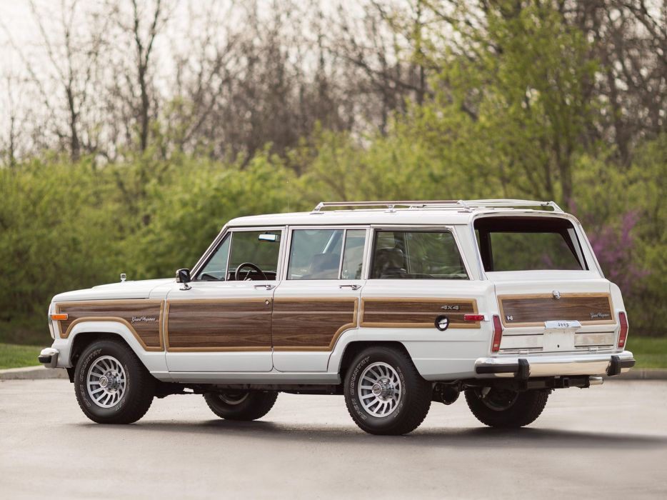 1987-91 Jeep Grand Wagoneer 4x4 stationwagon suv  r wallpaper