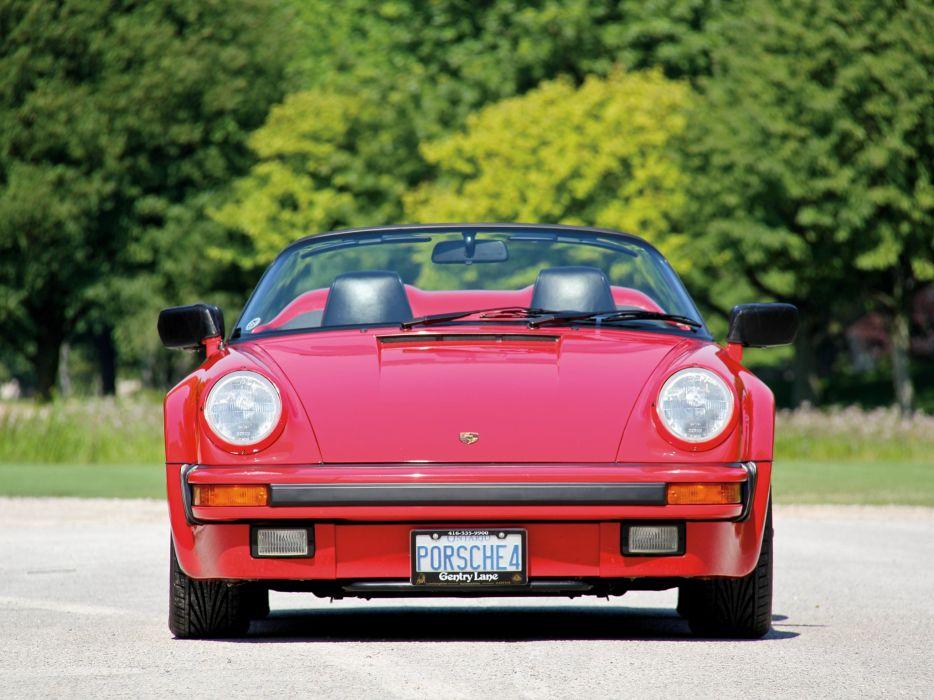 1989 Porsche 911 Carrera Speedster Turbolook US-spec supercar dw wallpaper
