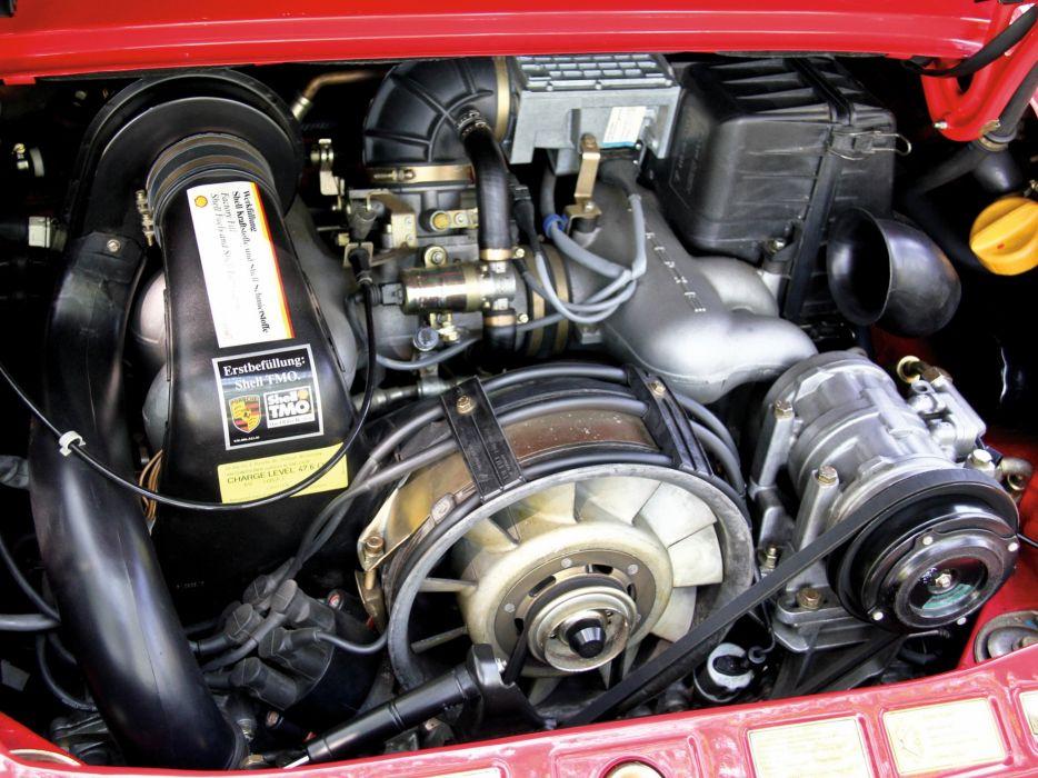1989 Porsche 911 Carrera Speedster Turbolook US-spec supercar engine    f wallpaper