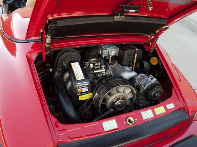 1989 Porsche 911 Carrera Speedster Turbolook US-spec supercar engine g wallpaper