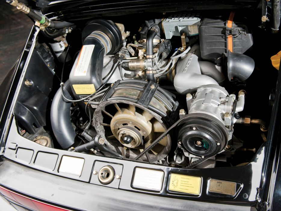 1989 Porsche 911 Carrera Speedster Turbolook US-spec supercar engine   f wallpaper