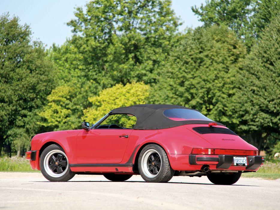 1989 Porsche 911 Carrera Speedster Turbolook US-spec supercar b wallpaper