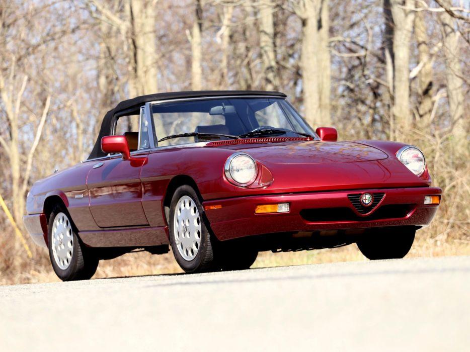 1991aei93 Alfa Romeo Spider Veloce US-spec (115)  e wallpaper