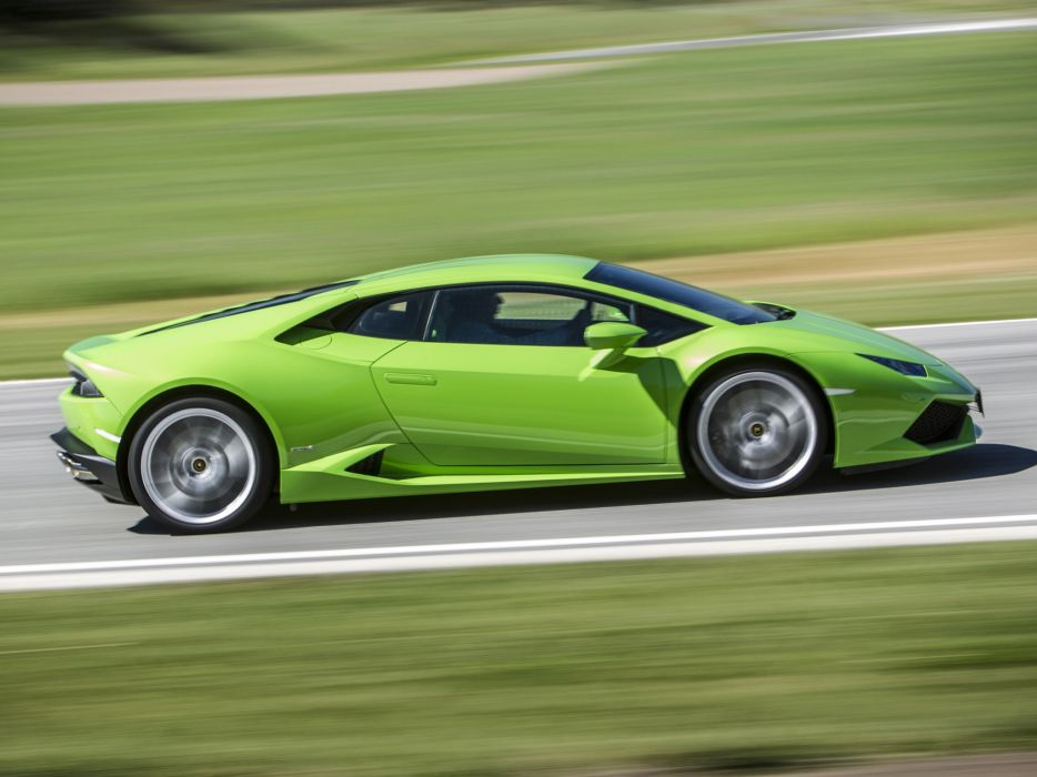 2014 Lamborghini Huracan LP 610-4 (LB724) supercar   d wallpaper