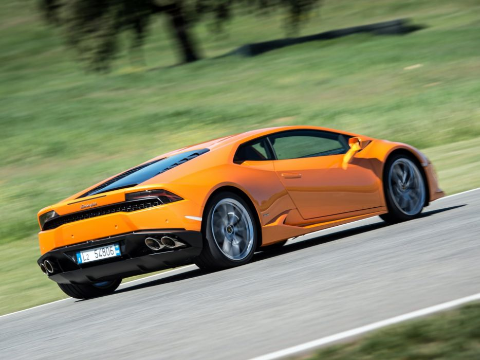 2014 Lamborghini Huracan LP 610-4 (LB724) supercar  d wallpaper