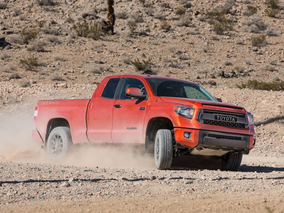 2015 TRD Toyota Tundra Double Cab Pro pickup  d wallpaper
