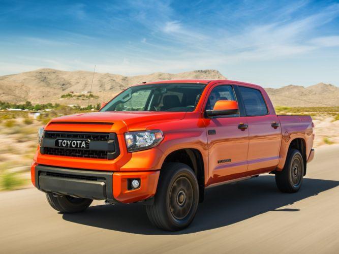 2015 TRD Toyota Tundra Double Cab Pro pickup e wallpaper