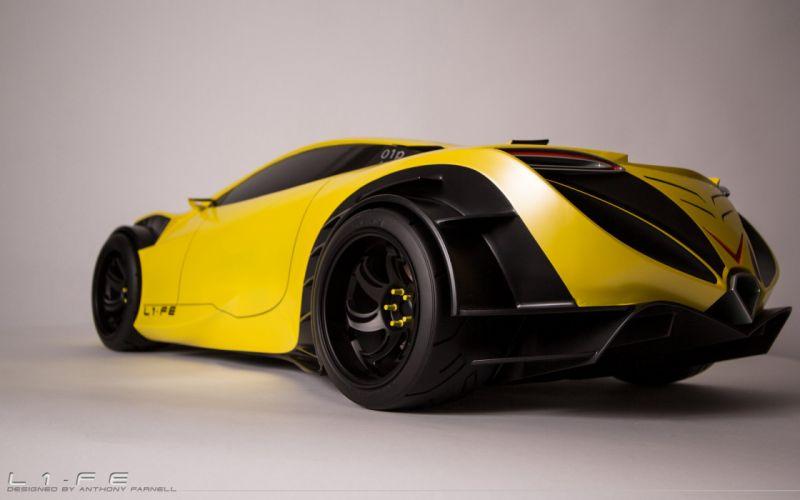 L1-FE Concept supercar wheel f wallpaper