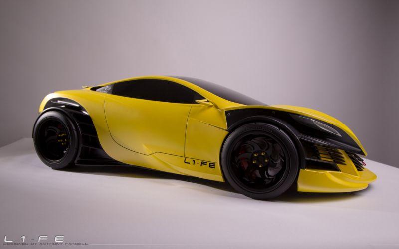 L1-FE Concept supercar e wallpaper