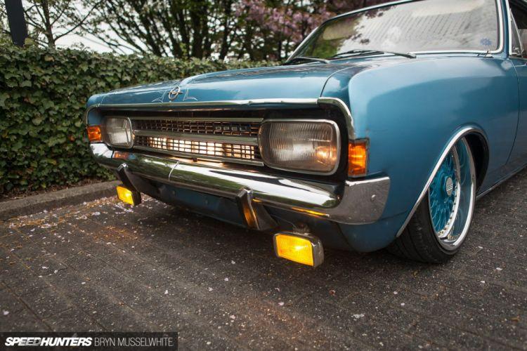 1971 Opel Rekord tuning d wallpaper
