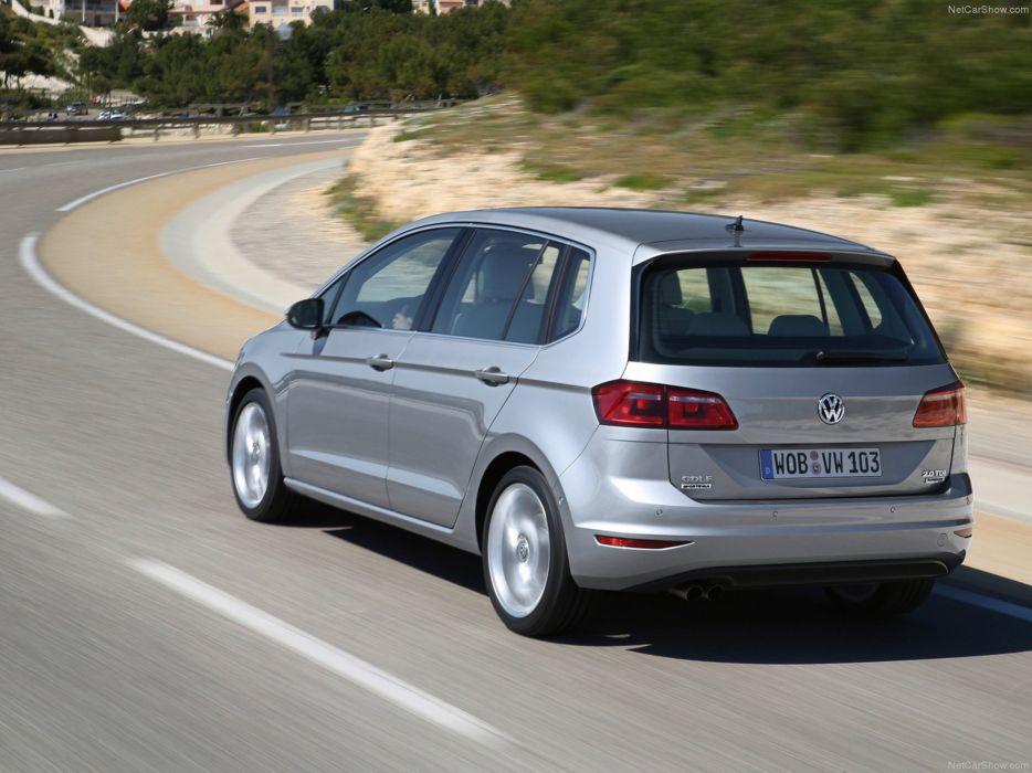 Volkswagen Golf Sportsvan 2014 Car Germany Wallpaper 4000x3000