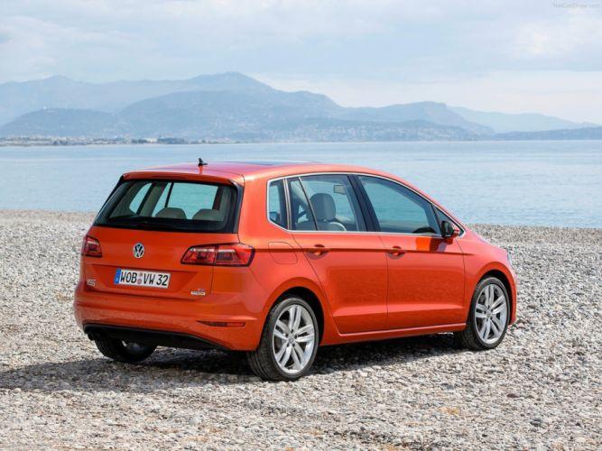 Volkswagen Golf Sportsvan 2014 car Germany wallpaper 4000x3000 wallpaper