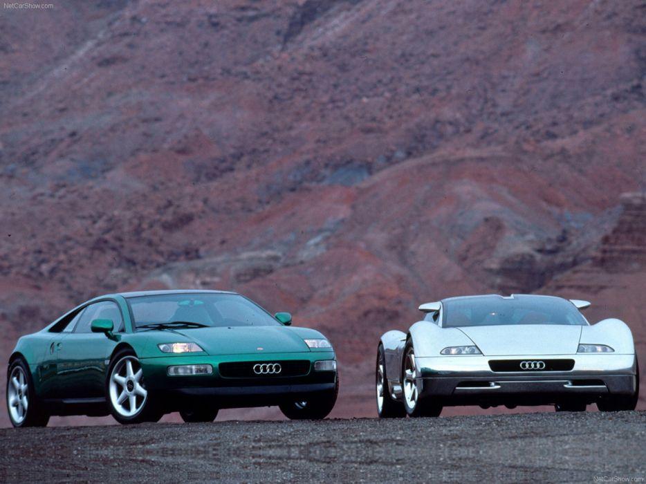 Audi quattro Spyder Concept 1991 supercar car Germany wallpaper 4000x3000 wallpaper