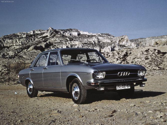 Audi 100 1969 retro Germany car wallpaper 4000x3000 wallpaper