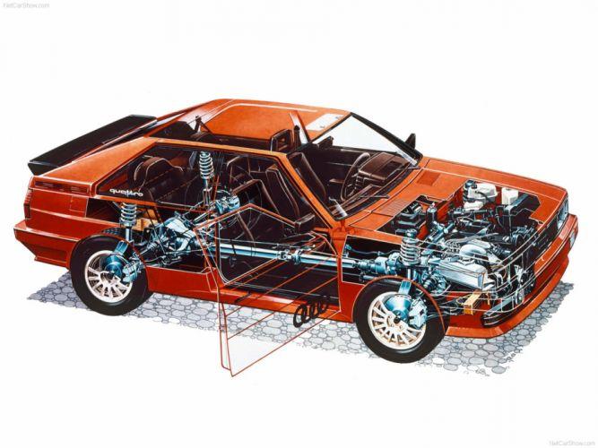 Audi quattro 1980 sport supercar car Germany wallpaper 4000x3000 wallpaper