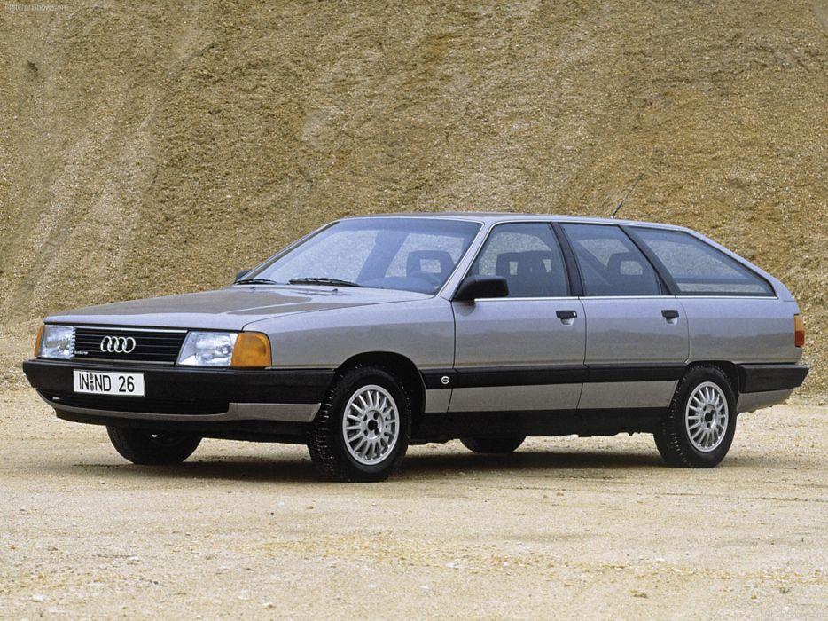 Audi 100 Avant quattro 1984 car Germany wallpaper 4000x3000 wallpaper