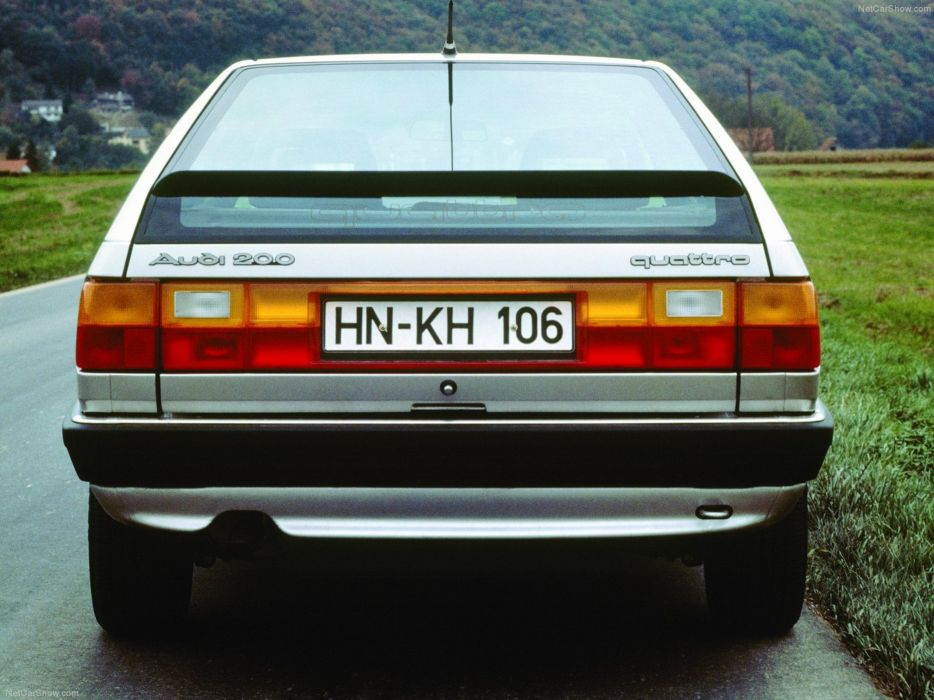 Audi 200 Avant 1989 car Germany wallpaper 4000x3000 wallpaper