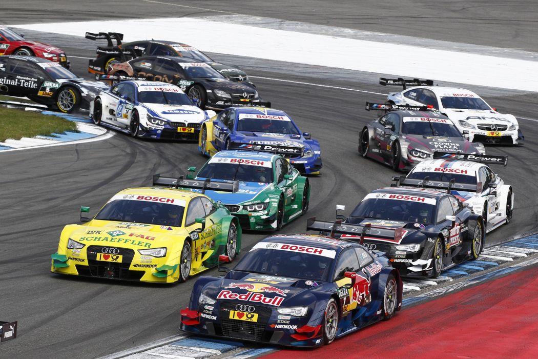 2014 DTM Saisonauftakt in Hockenheim-Ring Car Race Germany Racing Audi 4000x2667 wallpaper