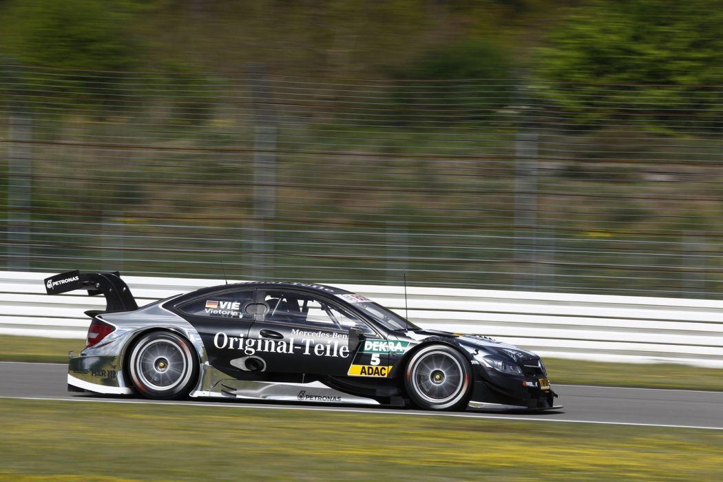 2014 DTM Saisonauftakt in Hockenheim-Ring Car Race Germany Racing Christian Vietoris Original-Teile Mercedes AMG 2014 DTM Mercedes AMG C-CoupA wallpaper