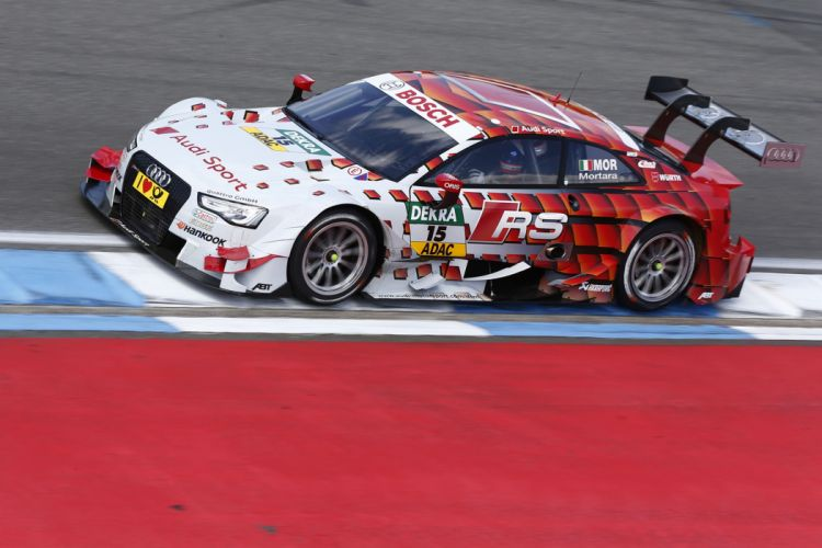 2014 DTM Saisonauftakt in Hockenheim-Ring Car Race Germany Racing Edoardo Mortara Audi Sport Team Abt 2014 Audi RS 5 DTM 4000x2667 wallpaper