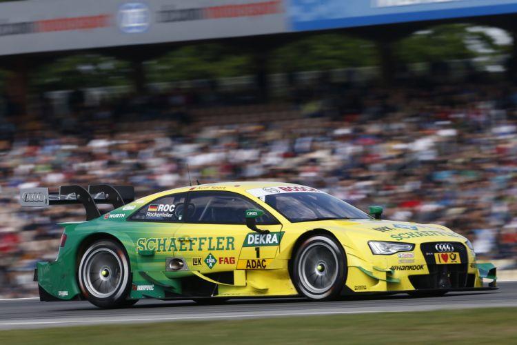 2014 DTM Saisonauftakt in Hockenheim-Ring Car Race Germany Racing Mike Rockenfeller Audi Sport Team Phoenix 2014 Audi RS 5 DTM 2 4000x2667 wallpaper