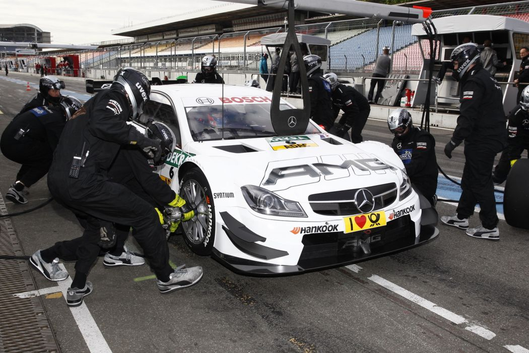 2014 DTM Saisonauftakt in Hockenheim-Ring Car Race Germany Racing Paul Di Resta Mercedes AMG DTM Mercedes AMG C-CoupA wallpaper