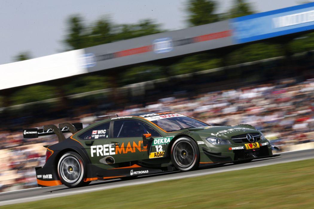 2014 DTM Saisonauftakt in Hockenheim-Ring Car Race Germany Racing Robert Wickens FREE MANA wallpaper