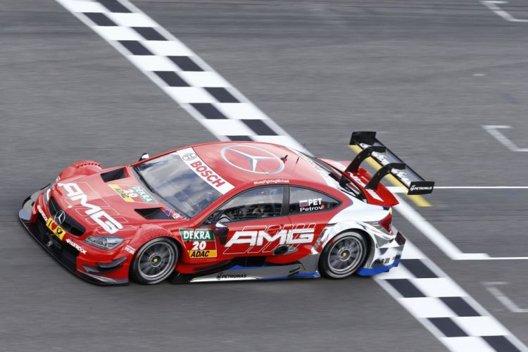 2014 DTM Saisonauftakt in Hockenheim-Ring Car Race Germany Racing Vitaly Petrov Mercedes AMG 2014 DTM Mercedes AMG C-CoupA wallpaper