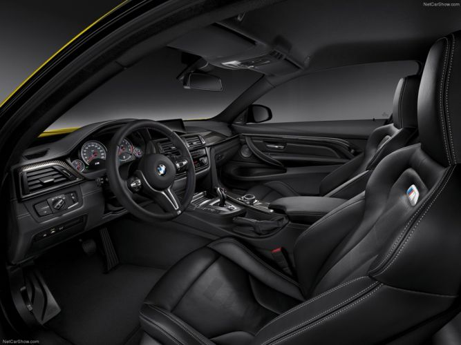 BMW M4-Coupe 2015 Supercar Car Germany Sport 4000x3000 Interior wallpaper