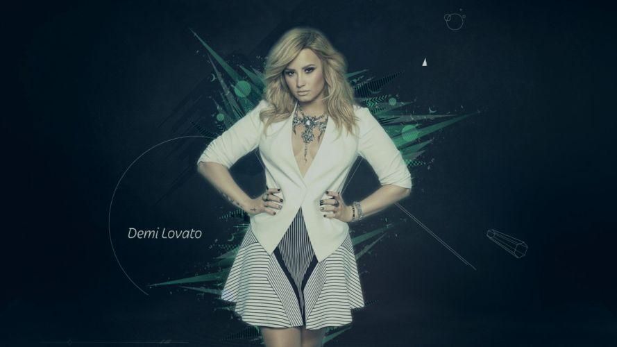 Demi Lovato Abstract Wallpaper wallpaper
